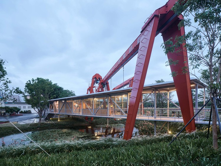 Suspended Pavilion / TJAD Original Design Studio, © ZY Architectural Photography