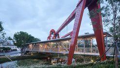 Suspended Pavilion / TJAD Original Design Studio