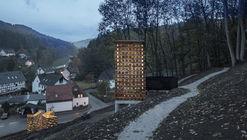 Instalaciones Unterholz y Oberholz / Christoph Hesse Architects
