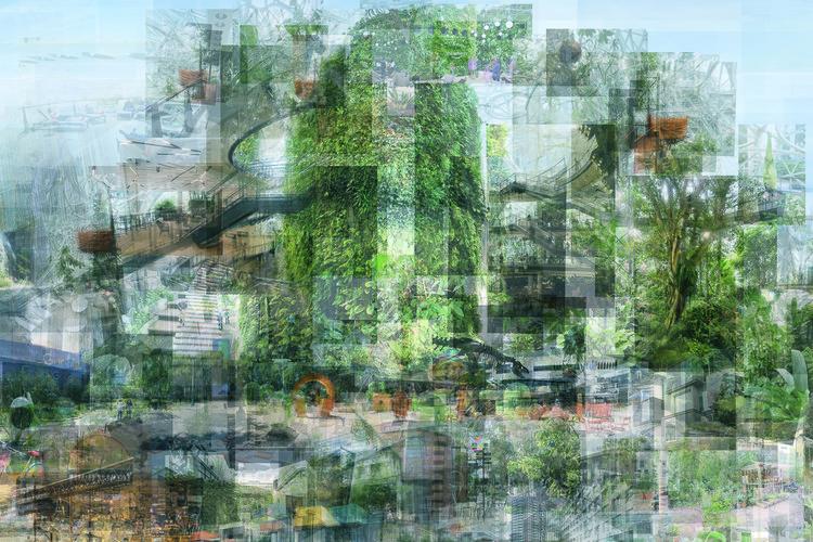 Pavilhão da Áustria na Bienal de Veneza 2021 explora relação entre plataformas digitais e o ambiente construído, Cortesia do Centre for Global Architecture