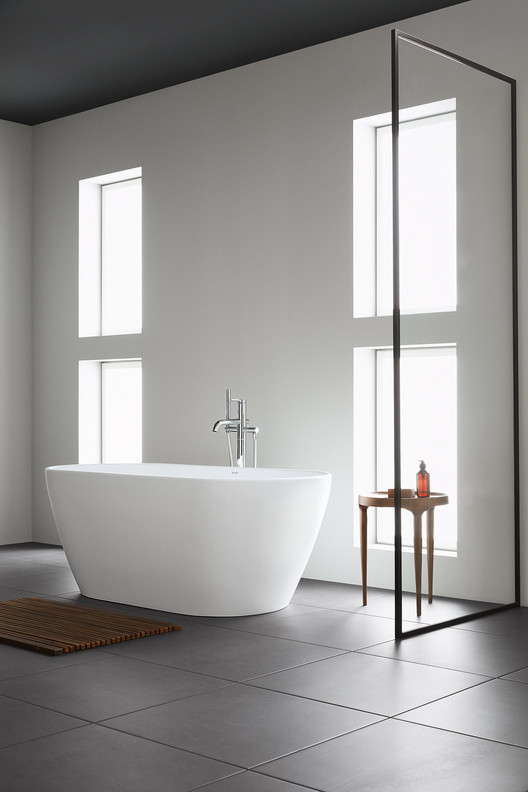 Affordable Premium Design: Bertrand Lejoly's New Collection for Duravit, A freestanding bathtub in an affordable price segment may not be usual, but, as Duravit impressively proves with the D-Neo line, it's possible. Image Courtesy of Duravit