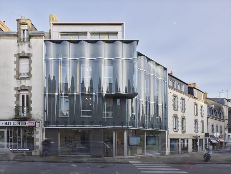 Oficinas de GIBOIRE Morbihan / a/LTA, © Stephane Chalmeau