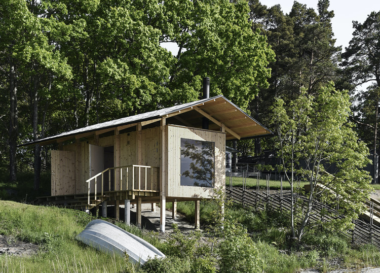 Sauna Smådalarö / Metropolis Arkitekter, Courtesy of Metropolis Arkitekter