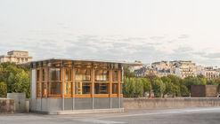 Kiosk Eiffel  / Franklin Azzi Architecture