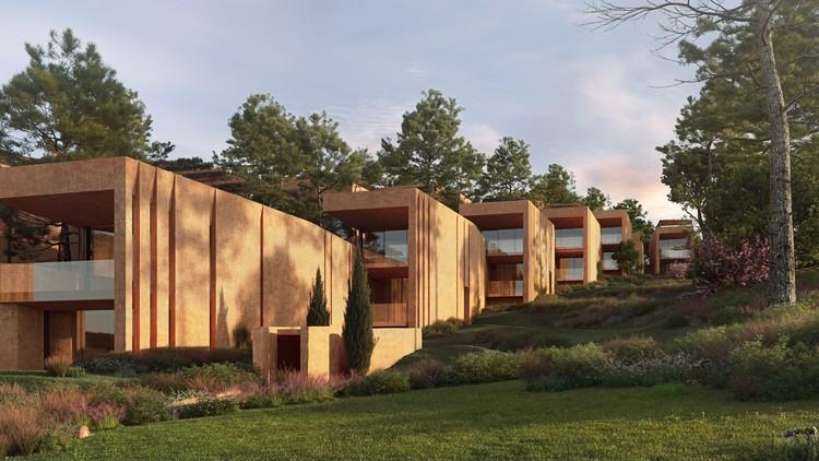 RCR Arquitectes diseña nuevo complejo residencial de lujo en Palmares Ocean Living & Golf Resort, en Portugal, Cortesía de Palmares Ocean Living & Golf
