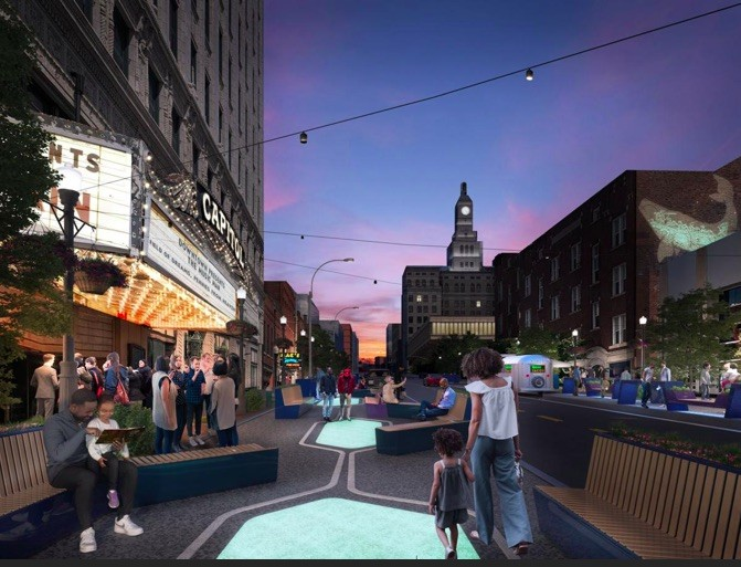 WXY Reveals Human-Centered Master Plan for Downtown Davenport, Davenport Master Plan . Image Courtesy of Downtown Davenport Partnership