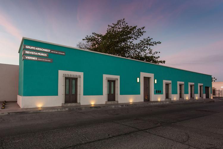Rehabilitación del edificio del Grupo Niños Héroes / Arsciniest.  Imagen © Juan Luis Fernández M.