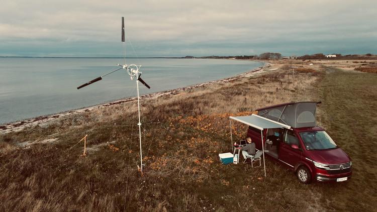 Turbina eólica portátil permite gerar energia em qualquer lugar, Cortesia de CicloVivo