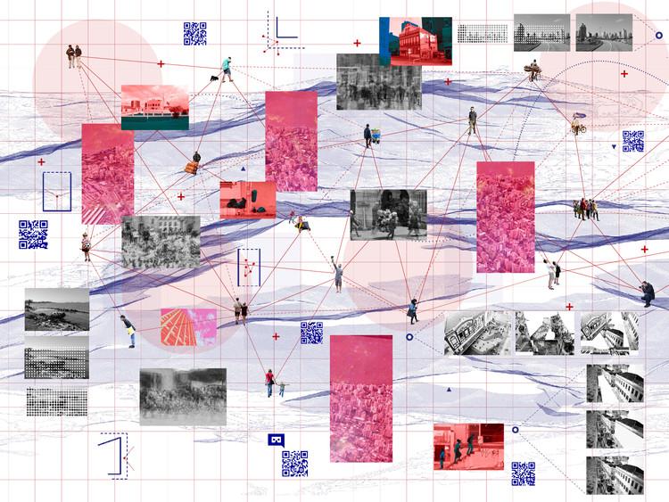 Cidade aberta: estratégias de experimentação do espaço urbano , Cidade aberta. Diagrama elaborado pela autora