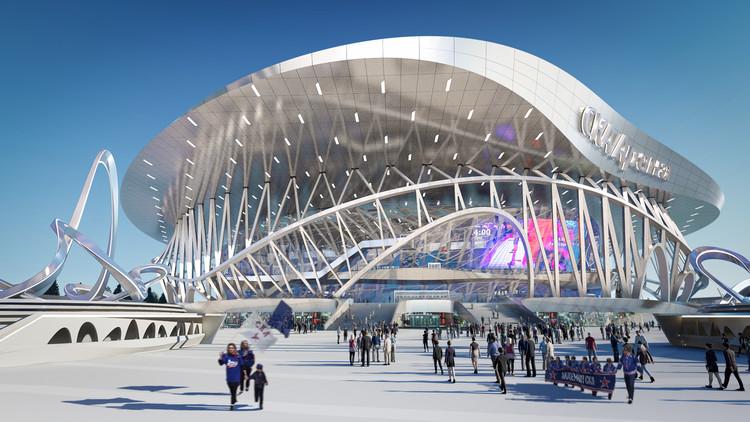 Coop Himmelb(l)au to Build Constructivism-Inspired CKA Arena and Park, © CoopHimmelb(l)au