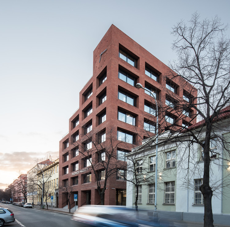 New Town Hall Prague 7 / BOD Architekti, ? Tomá? Slavík