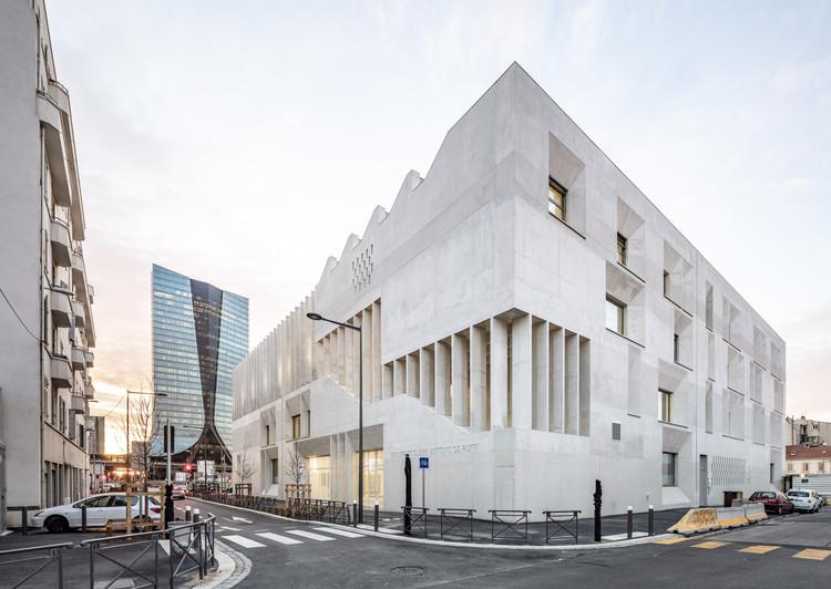 Escola Antoine de Ruffi / TAUTEM Architecture + bmc2 architectes, © Luc Boegly