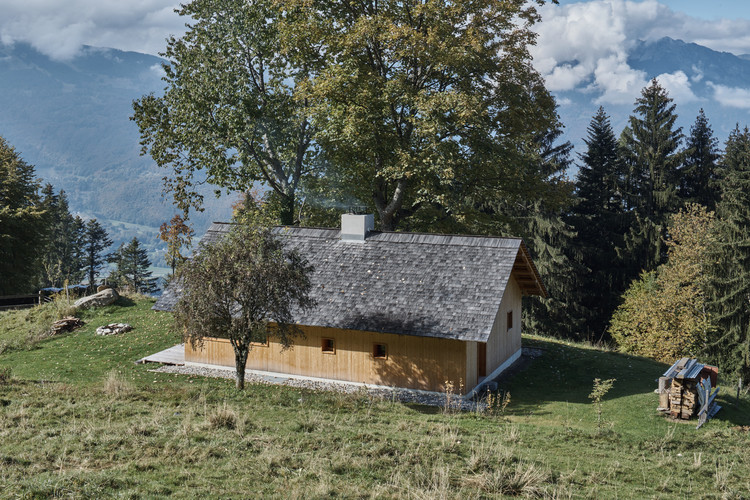 Béllerine Cabin / Cloux Architecture, © Tonatiuh Ambrosetti
