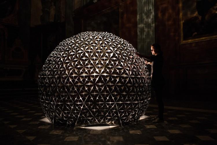 © Studio Roosegaarde. ImageLotus Dome