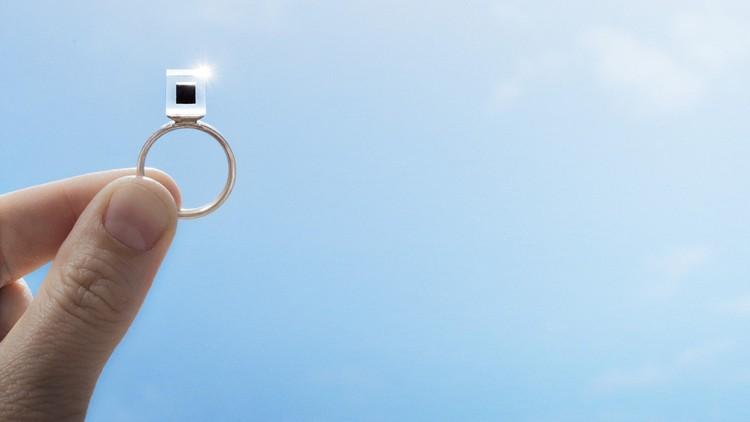 Smoke Free Ring. Image© Studio Roosegaarde