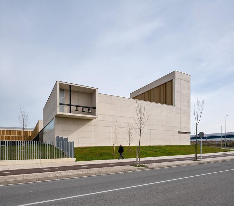Instituto politécnico Salesianos Pamplona / Garmendia Cordero Arquitectos + TCGA Arquitectos, © Pedro Pegenaute