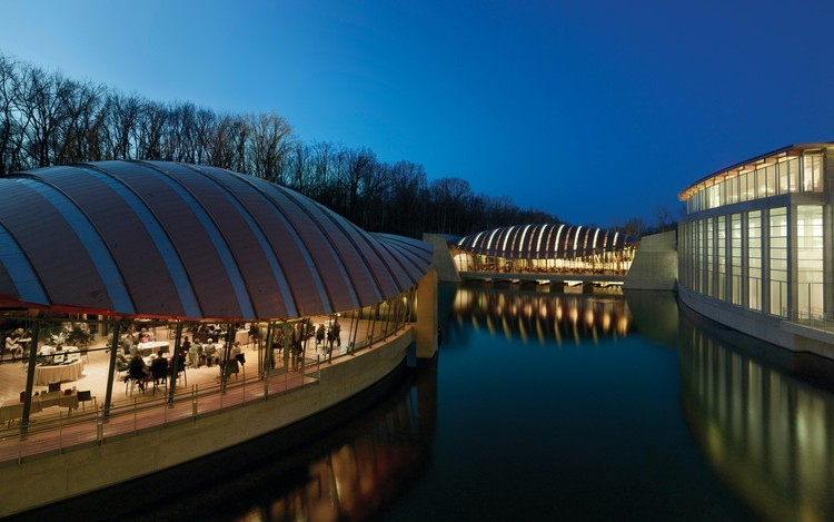 Safdie Architects to Design Major Crystal Bridges Expansion, Courtesy of Safdie Architects