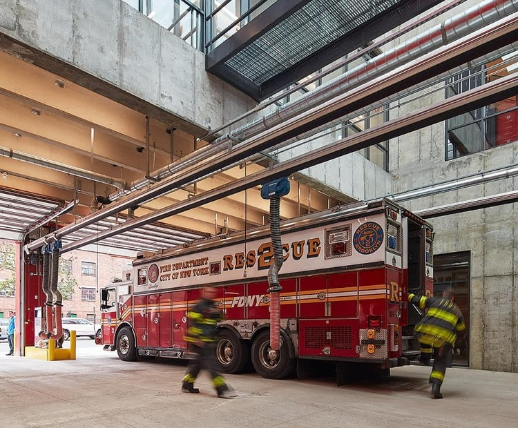 All Aglow: New Fire Stations Bringing the Heat, Courtesy of Studio Gang