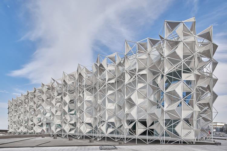 Japan Pavilion Unfolds an Intricate Tridimensional Facade for Expo 2020 Dubai, © Expo 2020 Dubai JAPAN PAVILION (November 27th, 2020)