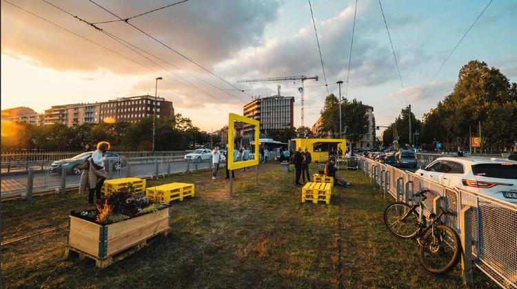 Torino Stratosferica Transforms Abandoned Tramway into Vibrant Urban Park , Courtesy of Torino Stratosferica