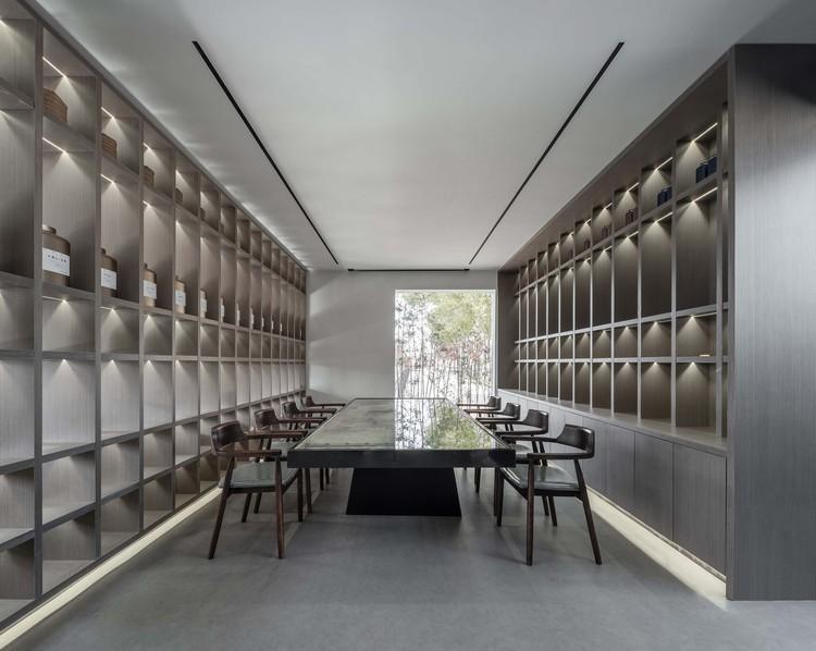 reception area. Image © Enlong Zhu