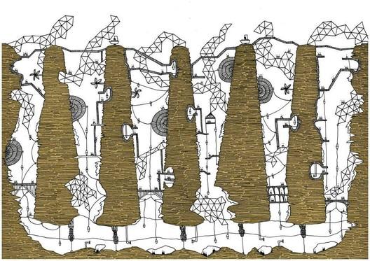 Italo Calvino's 'Invisible Cities', Isaura. Image © Karina Puente Frantzen