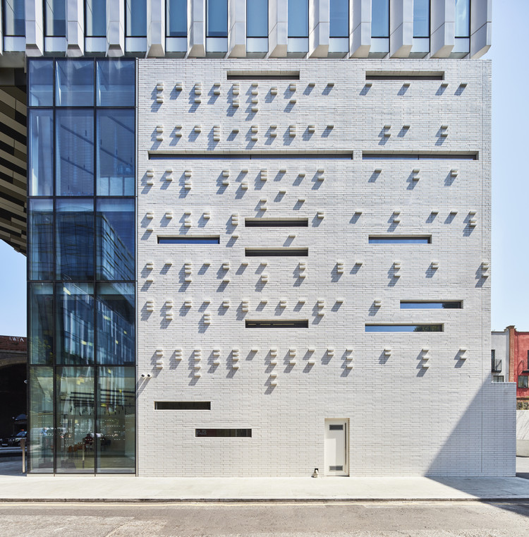 The Music Box Campus for the London College of Contemporary Media / SPPARC Studio, © Ed Reeve