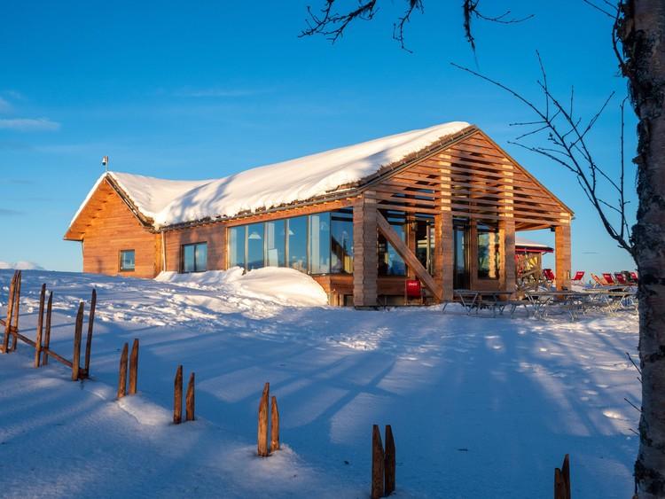 Varden Ski Restaurant / Nordic Office of Architecture, © Knut Ramstad