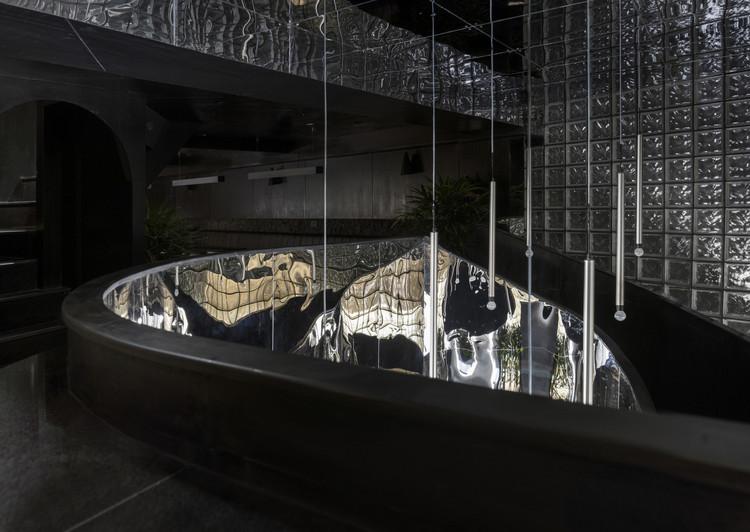 The Black Concrete Restaurant and Bar  / RENESA Architecture Design Interiors Studio, © Niveditaa Gupta