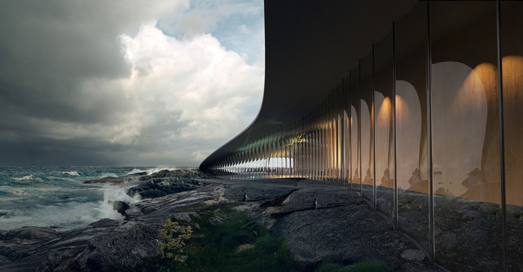 The Different Uses of Renderings in Architecture, The Whale by Dorte Mandrup. Image © MIR
