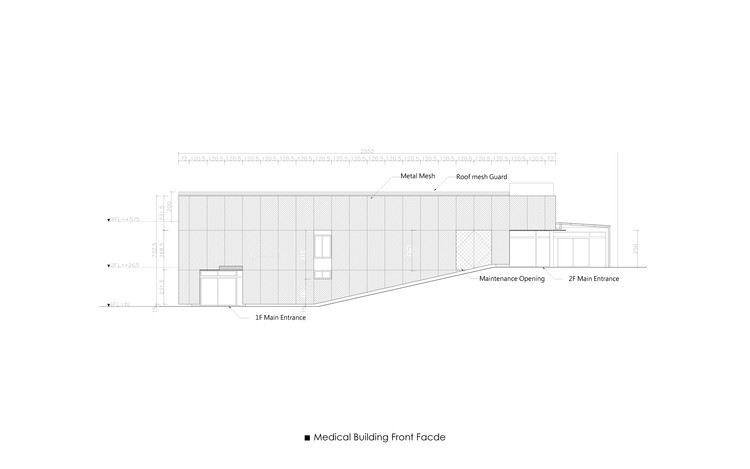 Medical Building Front Elevation