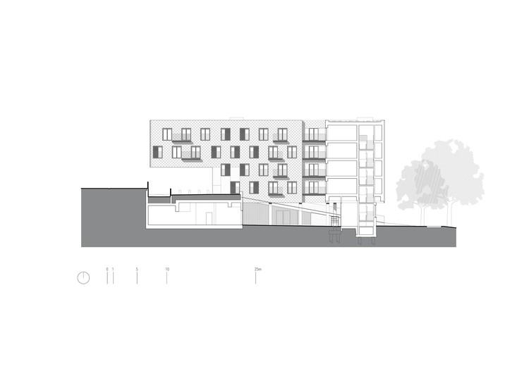 Corte - Social Housing Klein Rijsel / Abscis Architecten + A2D