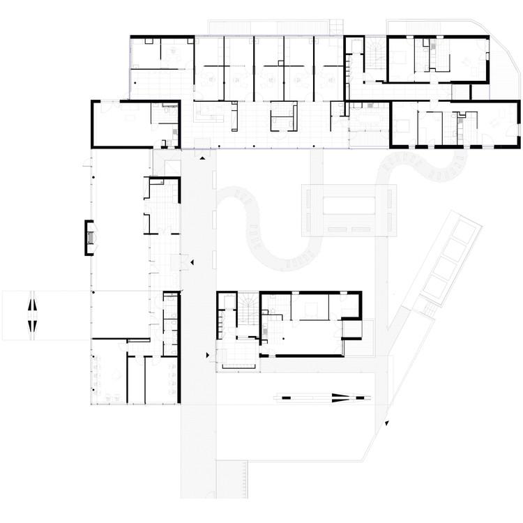 Planta - Les Hallates Senior Housing / Agapé
