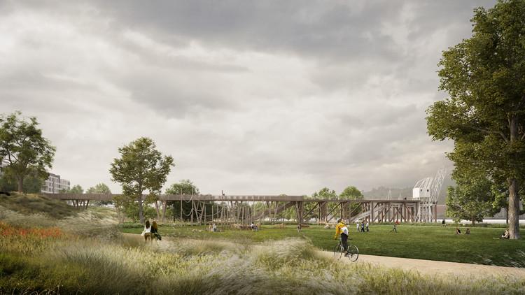 Perspectiva. Image Cortesía de Burgos & Garrido Arquitectos