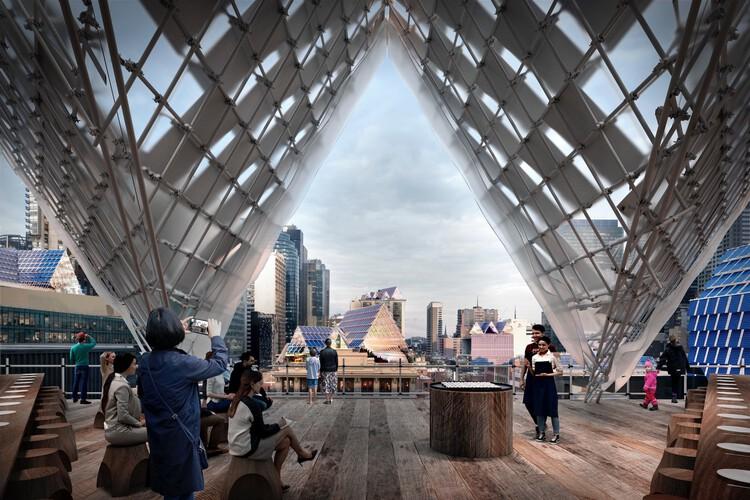 Solar Architecture byJohn Wardle Architects. Image Courtesy of Finding Infinity