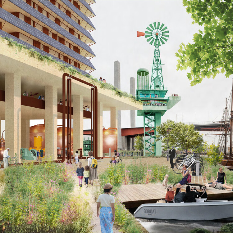 Finding Infinity Develops a Zero-Carbon Strategy for Melbourne, New Architecture by Kennedy Nolan. Image Courtesy of Finding Infinity