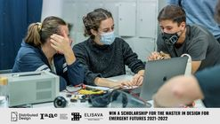 Distributed Design Scholarship Competition 2021 > IAAC's Master in Design for Emergent Futures