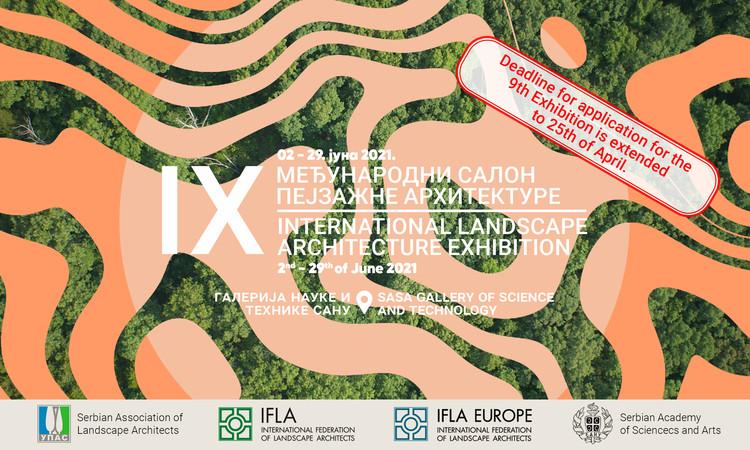 Open Call: IX International Landscape Architecture Exibition 2021