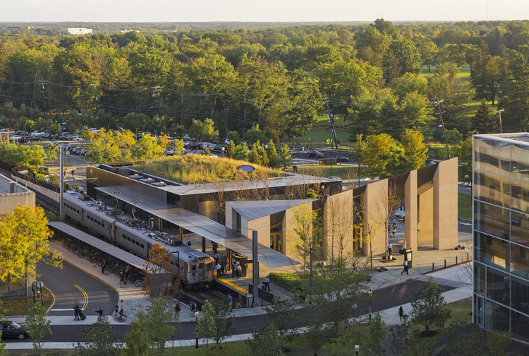 Princeton Transit Hall and Market / Studio Rick Joy. Image © Jeff Goldberg / ESTO