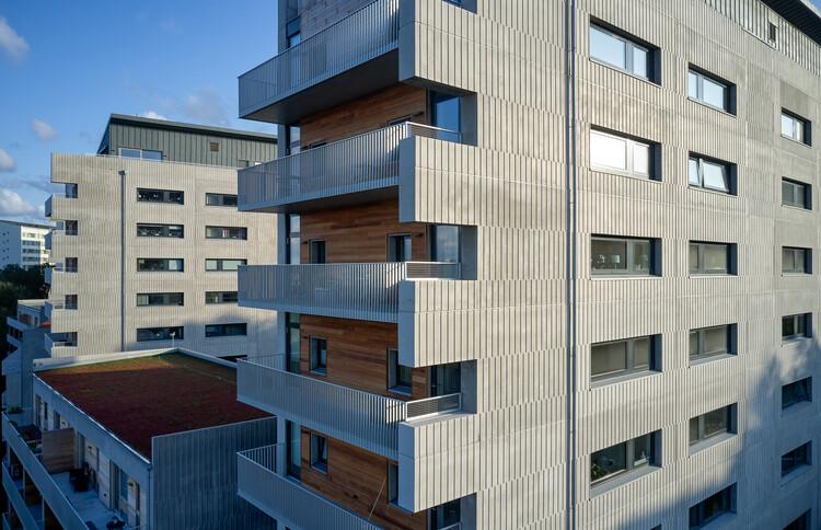 Brf Viva Housing Complex / Malmstr?m Edstr?m Arkitekter Ingenj?rer, ? Ulf Celander
