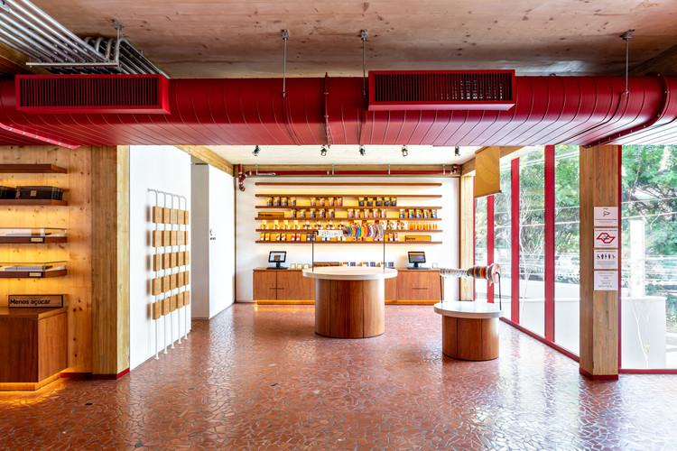 Loja Conceito da Dengo Chocolates  / Matheus Farah + Manoel Maia Arquitetura, © Fran Parente