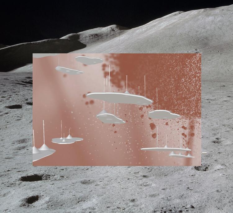 "Bethany Rigby, ""Apollo 14 Lunar Samples,"" Mining the Skies, 2020. Courtesy Bethany Rigby, NASA/ ID: S71-19489. Image Courtesy of Biennale Architettura 2021"