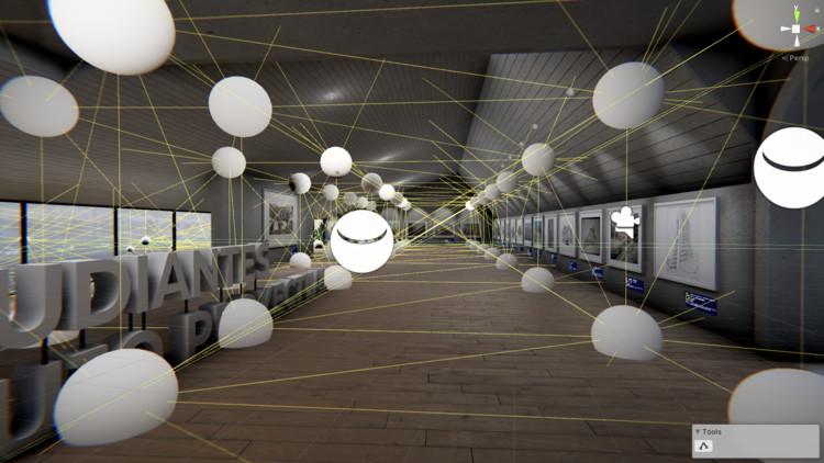 ¿Cómo se diseñó la primera exposición virtual de dibujos de arquitectura en Colombia?, Cortesía de FABLAB COLMAYOR