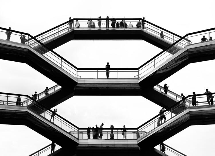 The Vessel, New York City, USA by Heatherwick Studio . Image © Joan Muñoz Arango