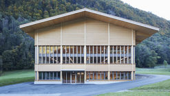 Wooden Production Facility for Timber Construction and Carpentry / AMJGS Architektur + Marti AG Matt