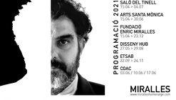 Enric Miralles: 5 exposiciones de homenaje a su trabajo como arquitecto, diseñador, fotógrafo y profesor