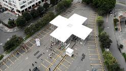 Temporary Chapel Alhambra's Cross   / Colab-19 + Sociedad Colombiana de Arquitectos
