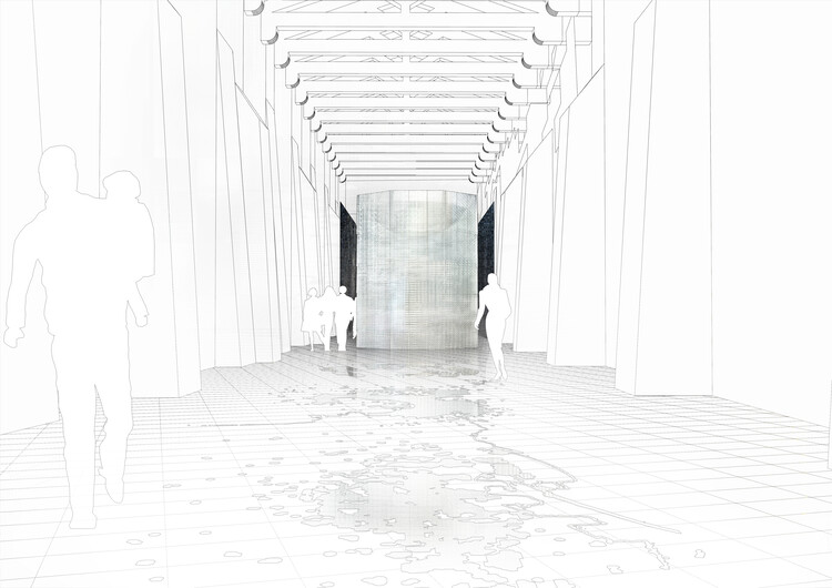 The Lebanese Pavilion at the 2021 Venice Biennale, Curated by Hala Wardé, Tackles the Notions of Emptiness and Silence, A Roof for Silence. Image © HW architecture