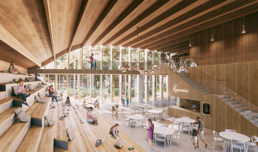 A Library in South Korea and a School in Mozambique :10 Unbuilt Projects Submitted to Archdaily