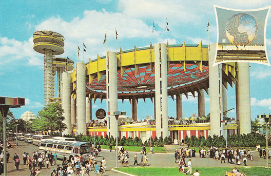1964 World's Fair held in New York City. Image Courtesy of Abandoned NYC